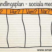handlingsplan sociala medier
