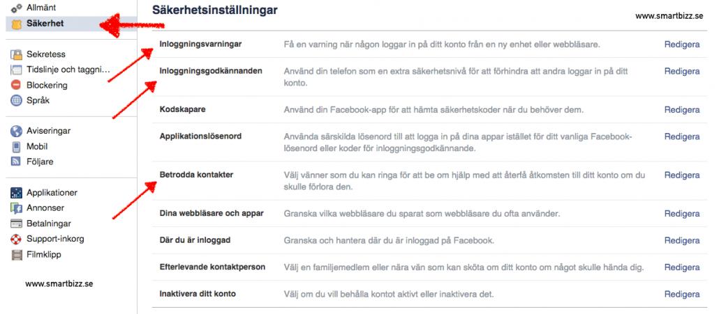 Socialamedier_Facebook_Säkerhet_Smartbizz