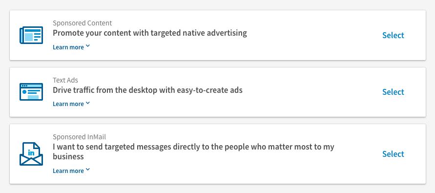 annonsering LinkedIn