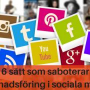 marknadsföring sociala medier