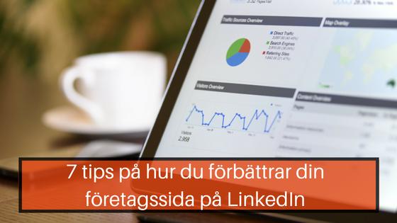 företagssida LinkedIn