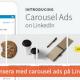 caroousel ads LinkedIn