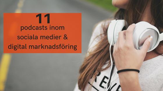podcast sociala medier digital markandsföring