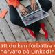 närvaro LinkedIn