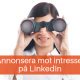annonsera intresse LinkedIn