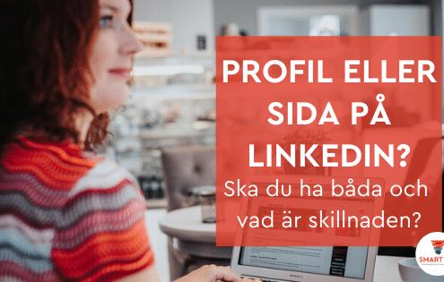 linkedin sida profil