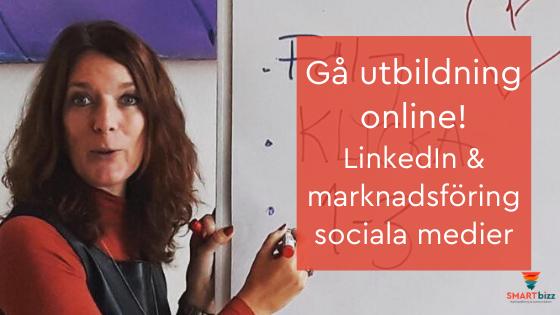online utbildning LinkedIn sociala medier