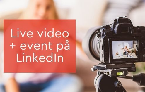live video event LinkedIn